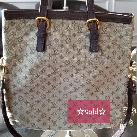 Louis Vuitton Handbags - Louis Vuitton Canvas Monogram - one of a kind